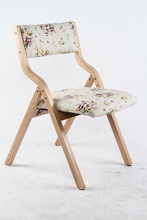 garden chair tea table stool folding seat wood frame