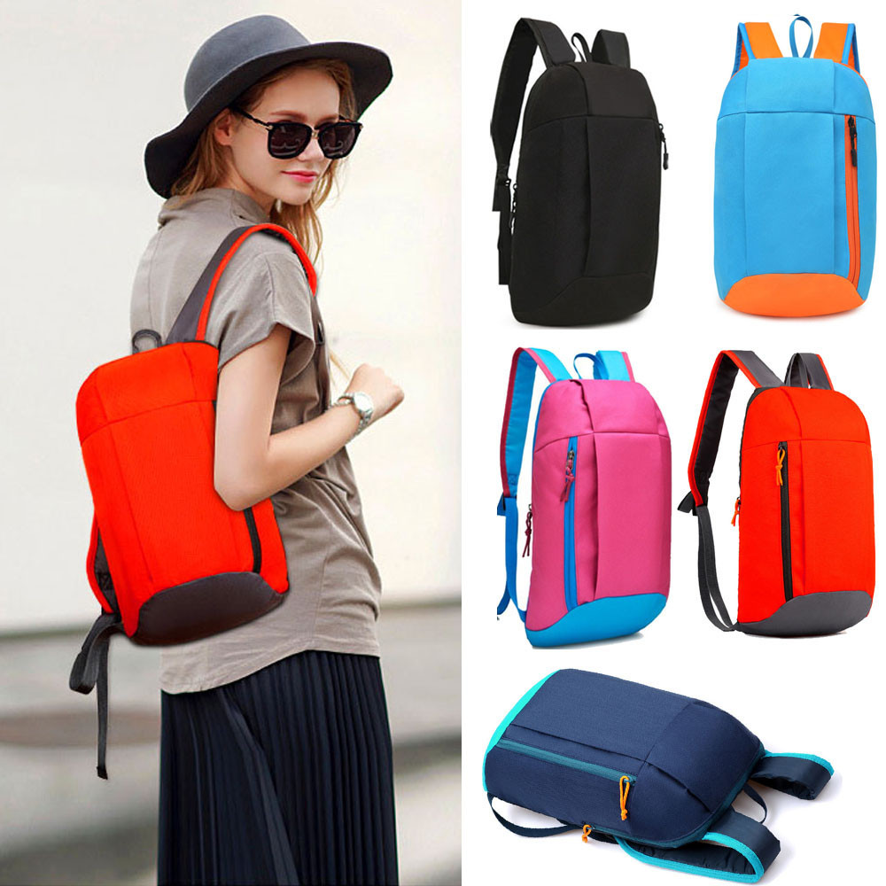 Sports Backpack School-Bags Rucksack Unisex Teenage Travel Waterproof Women Fashion