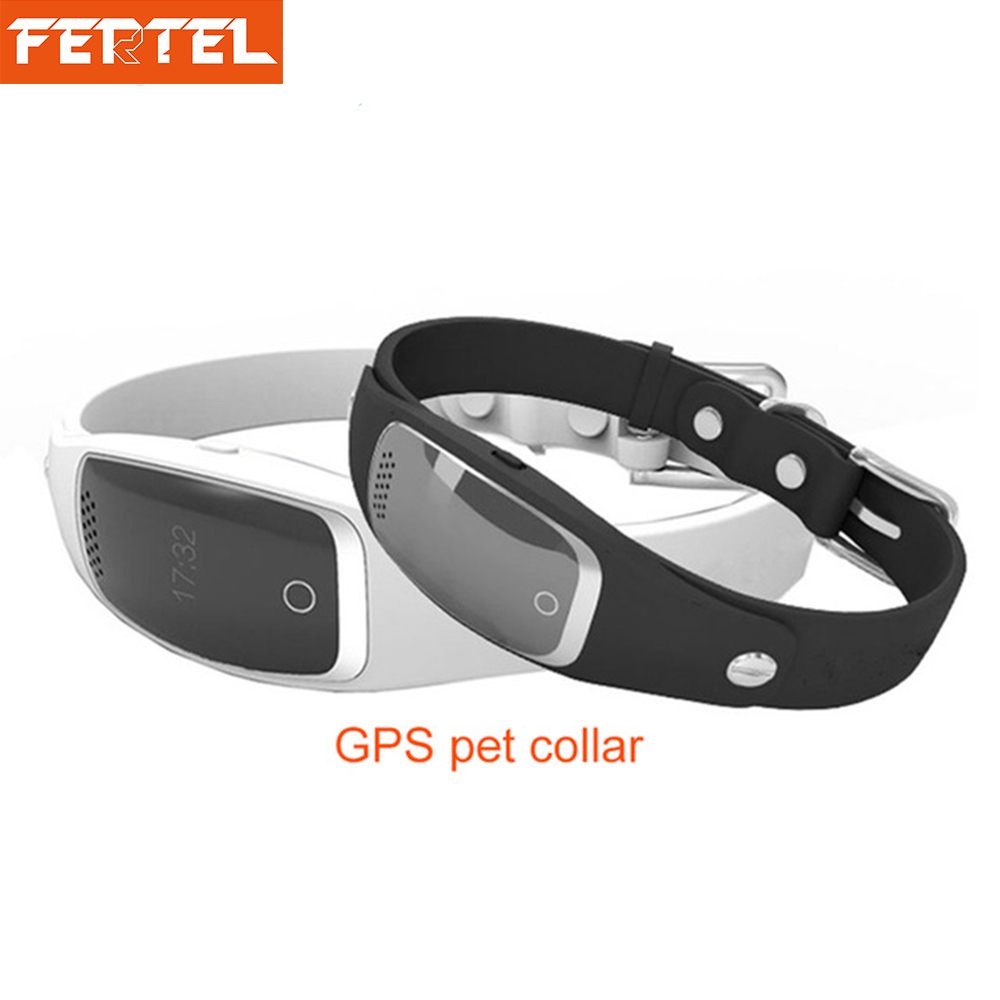 Pet GPS Collar Smart Activity Tracker for Cat Dog With Geofence Voice Interaction Medicine Remind pet safe electronic shock vibrating dog training collar with remote control 2 x aaa 1 x 6f22 9v