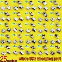 25 моделей разъемов для зарядки mini micro usb разъем 7 контактов