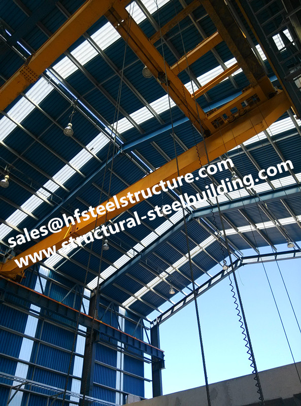 China metal roofing structural steel warehouse with doors and ...