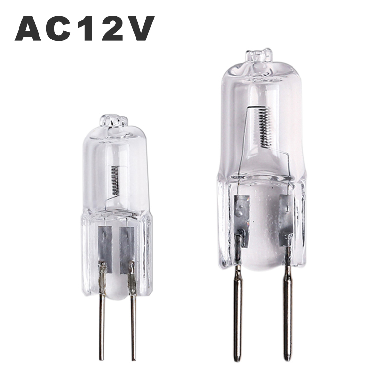 Halogen Bulbs Useful Ac12v Halogen Lamp Bead G4 20w 35w Light Beads Dimmable G6.35 50w Tungsten Halogen Bulbs Warm White For Crystal Lamp Chandelier Limpid In Sight