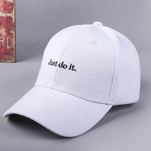 купить Embroidery just do it Baseball Cap Women Hip Hop Cap Dad Hat Bone Men Rapper Casual bone gorras Woman Man Cotton Unisex Hats дешево