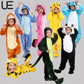 Hot Children Pokemon Pikachu Dinosaur Onesie Kids Girls Boys Warm Soft Cosplay Pajamas One Piece Sleepwear Halloween Costumes
