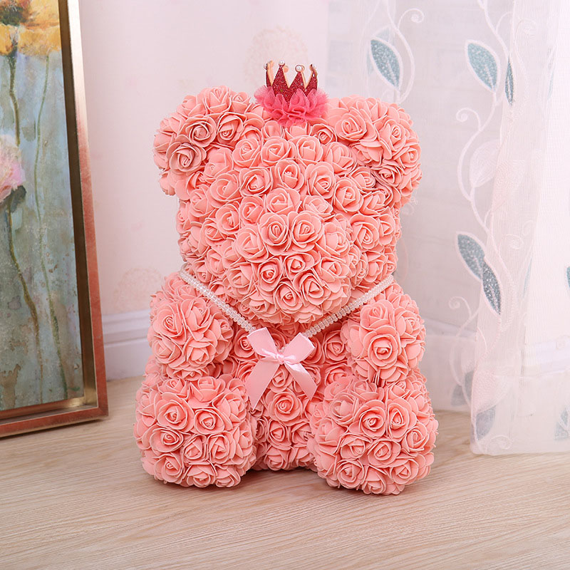 bear rose artificial flower (28)