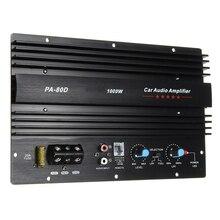 Aluminum Module Durable Subwoofer Sound Mono Channel Speaker