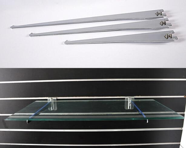 AA shelf mounted bracket glass board holder metal hardware bracket Slot Plate glass wooden board partition Bracket holder rack-in Furniture Accessories from ... & AA shelf mounted bracket glass board holder metal hardware bracket ...