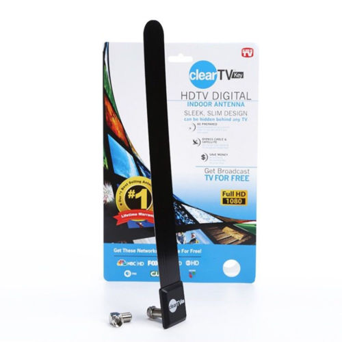 Clear TV Key HDTV Free TV Stick Satellite Indoor Digital Antenna Ditch Cable