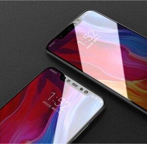 Image 2 - Новинка 9D закаленное стекло для Xiaomi Mi 8 SE Mi 8 Lite Полное покрытие защита экрана закаленное стекло для Xiaomi Mi 8 Lite стеклянная пленка
