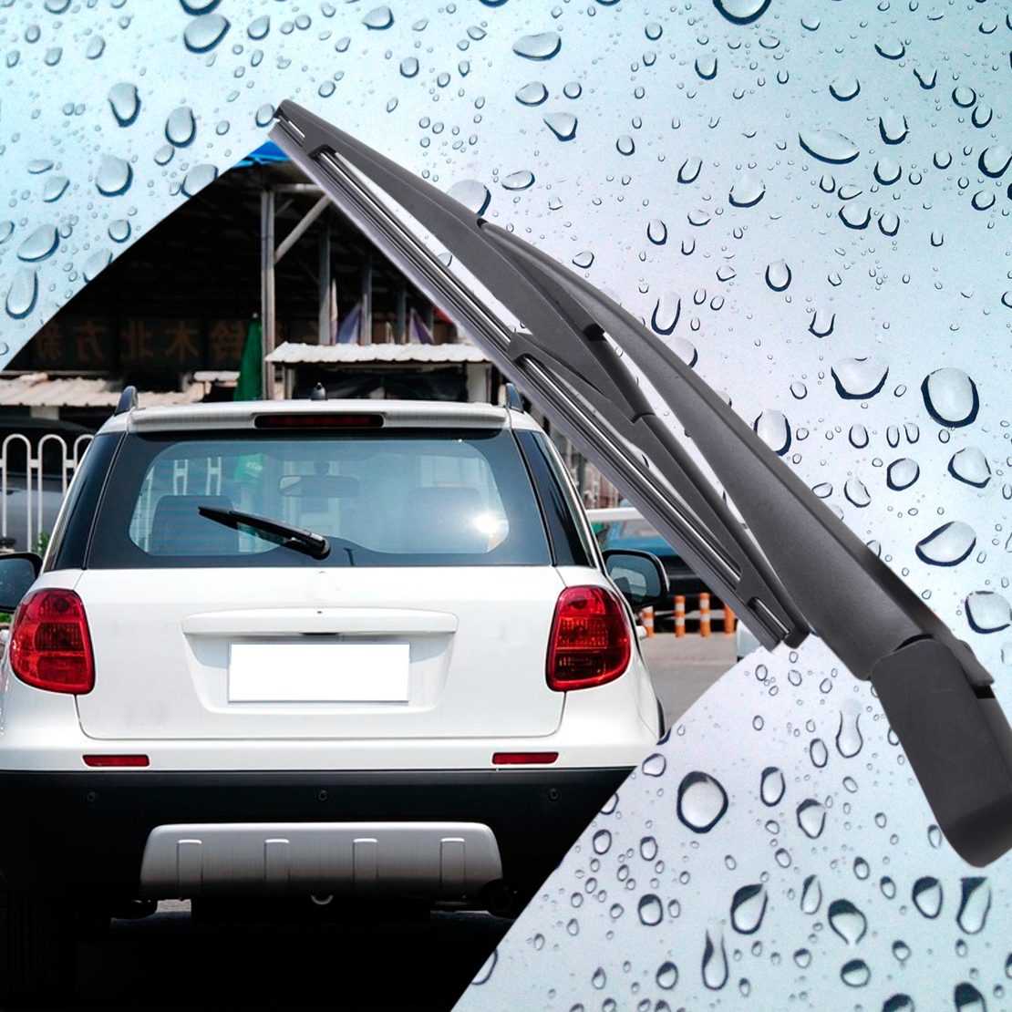 Beler Новый рычаг стеклоочистителя заднего стекла и лезвие для Suzuki Swift MK3 2005 2006 2007 2008 2009 2010 SX4 Хэтчбек 2006 2007