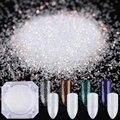 2 g/caja born pretty nail luminoso glitter powder 4 colores brillo laser en polvo manicura esmalte de uñas decoración de uñas purpurina