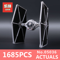 1685pcs Lepin 05036 Star War Series Tie Fighter Building Educational Blocks Bricks Toys Compatible 75095 Brithday