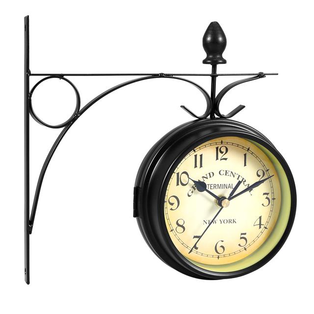 Retro Style Wall Clock – Grand Central