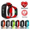 "P1 Bluetooth Smartband Blood Pressure Monitor Heart Rate Monitor Wristband Waterproof IP67 Smart Bracelet Wearable 0.86"" OLED 2"