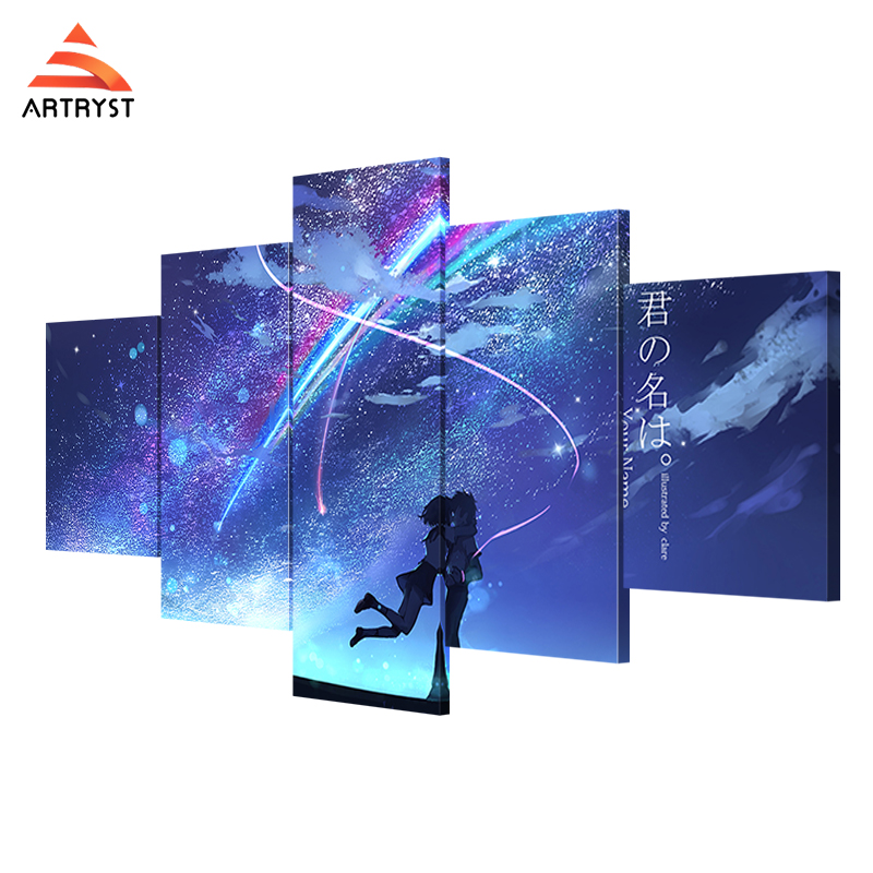 Artryst modern home decor art wall painting anime your ...