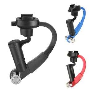 Image 4 - Mini Handheld Kamera Stabilisator Stetige 3 Farben Unterstützt für GoPro Hero 8 7 6 5 4 Sitzung Sjcam Sj8 M10 yi 4K Eken Action Kamera
