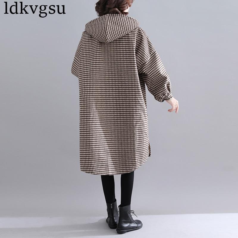 Laine Manteau Nouvelle Automne 2018 breasted Mode Vestes V147 Loisirs Khaki Femelle Dames Lâche Longue Hiver Femme Single Pardessus Section RXzRHyqwS