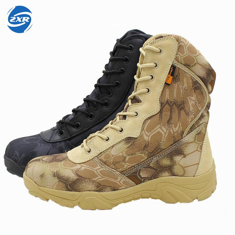 Autumn Winter waterproof Army Men Ankle Desert Botas Tactical Military Combat High Tall Boots Sport Travel Hiking Shoes