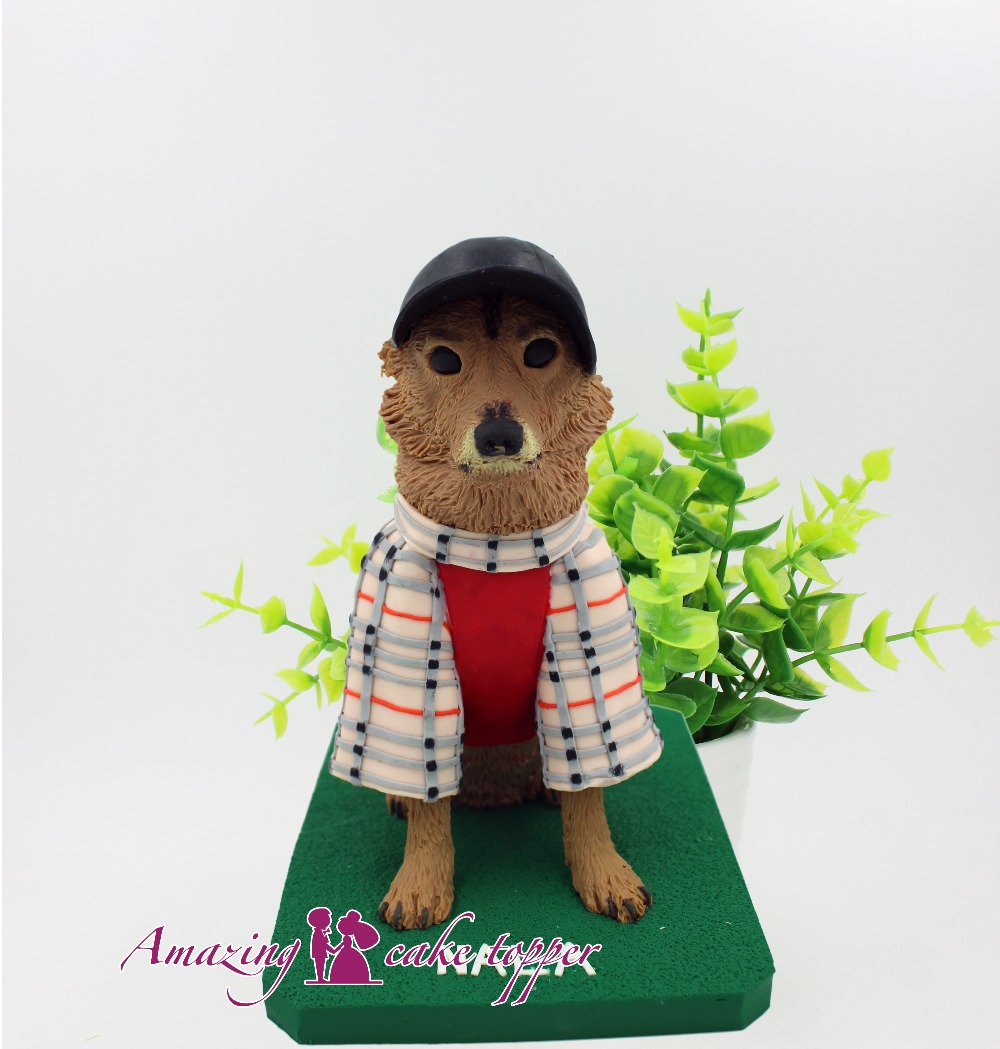 2019 AMAZING CAKE TOPPER Toys Smart and loyal pet dog And Groom Gifts Ideas Customized Figurine Valentines Day2019 AMAZING CAKE TOPPER Toys Smart and loyal pet dog And Groom Gifts Ideas Customized Figurine Valentines Day