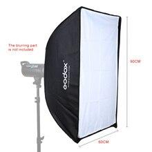 Godox Bao Rong süngü/dört açılı şemsiye yumuşak kutu UE-60 * 90 60*90 cm Dörtgen Şemsiye Softbox Stüdyo Flaş Speedlite için