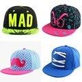 2016 new trendy custom design children hip hop snapback hats simple letter beauty baby baseball cap boy girl cute casquette