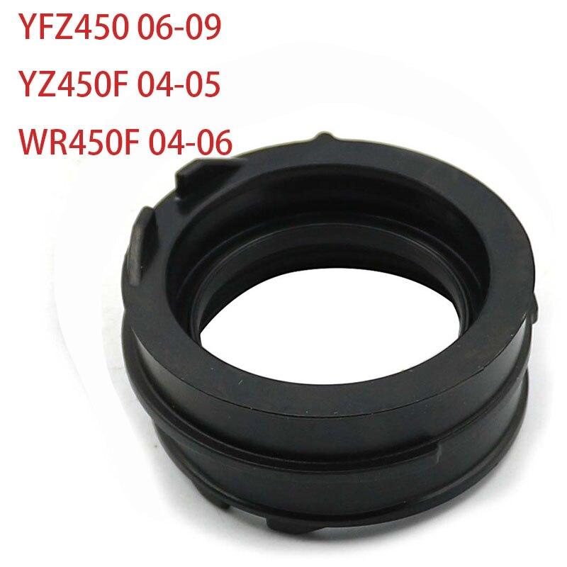 Carburetor Intake Manifold Adapter Boot Interface for Yamaha YZ450F WR450F 04-06