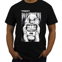THE PRODIGY FAT LIP HARDCORE TECHNO DANCE INDUSTRIAL BAND Black Men T-SHIRT Summer T Shirts O-neck Tops Tee Plus Size