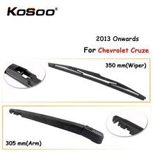 KOSOO Auto Rear Car Wiper Blade For Chevrolet Cruze,350mm 2013 Onwards Rear Window Windshield Wiper Blades Arm,Car Accessories