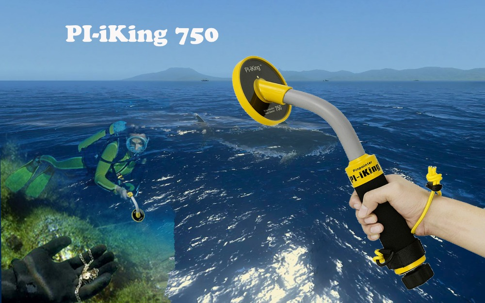 Pi iking 750 30m Targeting Pinpointer Pulse Induction (PI) Underwater Metal Detector Waterproof Vibrator-in Industrial Metal Detectors from Tools