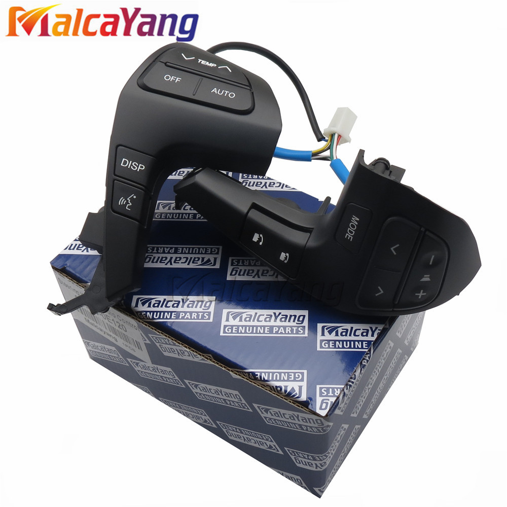 84250-0E220 84250-0E120 Auto Stuurwiel Audio Control Knop Schakelaar Voor TOYOTA HILUX VIGO COROLLA CAMRY HIGHLANDER INNOVA