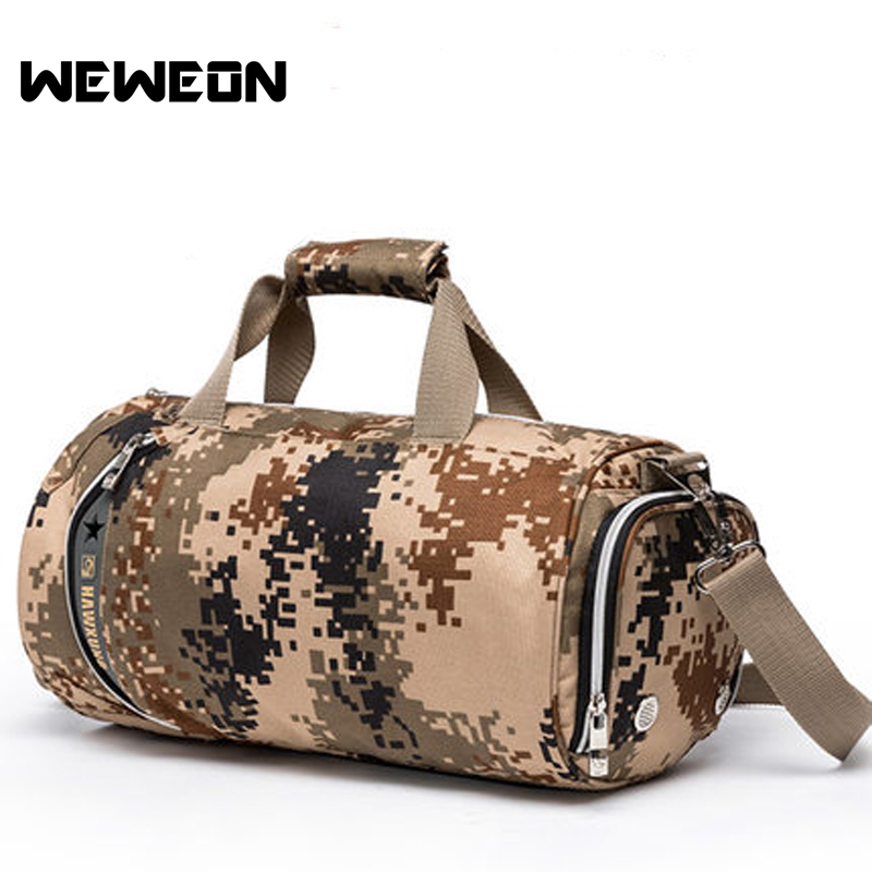 2018 New Camouflage Sports Gym Bag Women Men Fitness Bags Yoga Waterproof Sport Bag Travel Training Shoulder Luggage Duffle Bags sports bag gym bag fitness sport bags travel shoulder waterproof sports handbag women outdoor shoulder fitness gym bag black