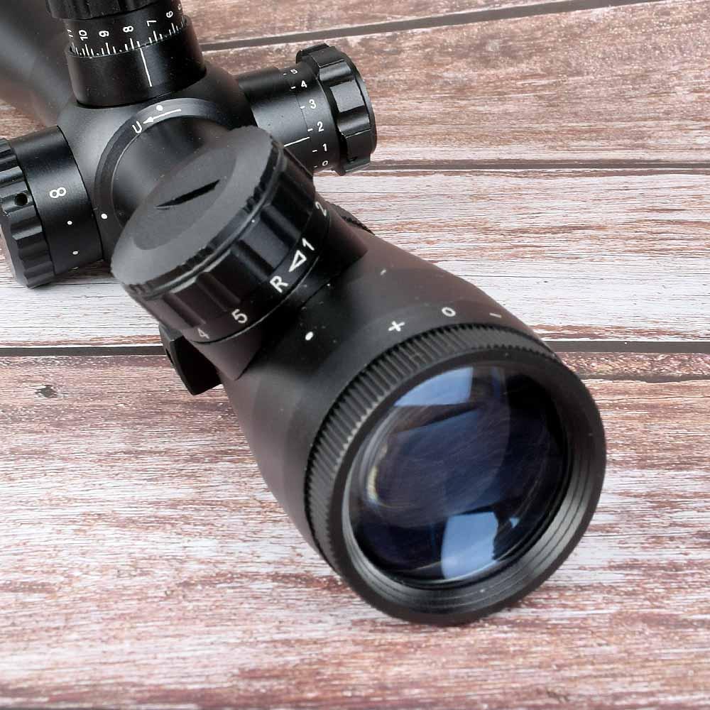 Caça óptica riflescope 3.5-10x40 rifle scope caça