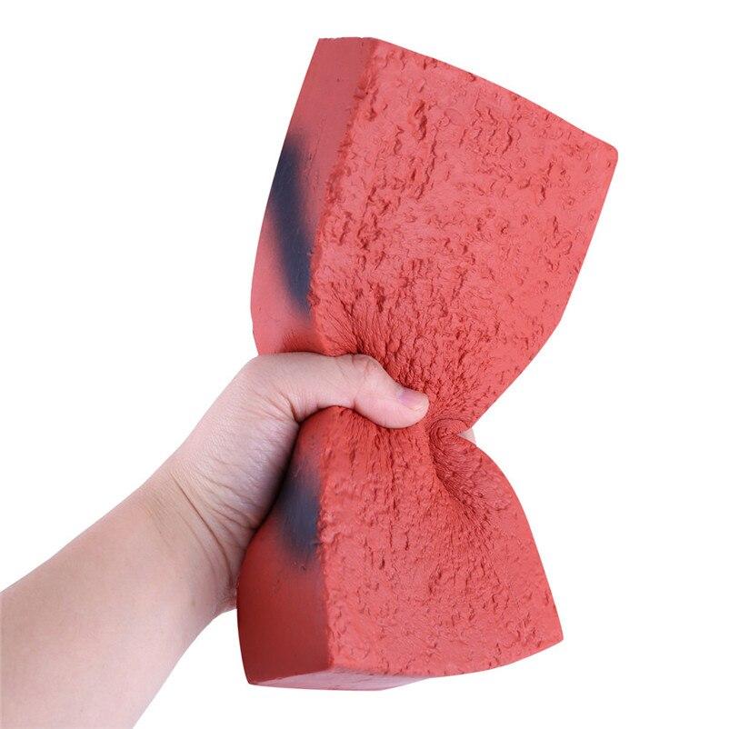 2019 Speciale Aanbieding Squishies Rode Baksteen Trage Zachte Stijgen Geurende Crème Stress Relief Speelgoed Voor Jongens Antystresowe Zabawki Nieuwe Hot M5
