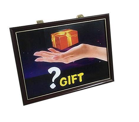Tour de tableau cadeau 4D, classique, Illusions, accessoires de magie de scène, amusement, spectacle de magie, magie d'enfants, gros plan, rue - 2