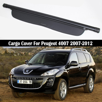 Rear Cargo Cover For Peugeot 4007 2007 2008 2009 2010 2011 2012 privacy Trunk Screen Security Shield shade Accessories