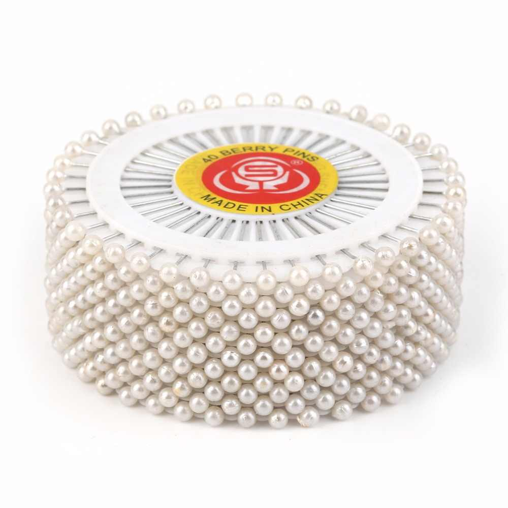 35mm 480pcs/Set White Round Head Dressmaking Pearl Decorating Sewing Pin Craft For Home Decorative DIY Crafts Accessories