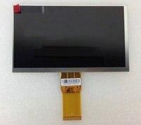 LCD Display 7 TeXet TM 7049 3G TM7049 TABLET 1024 600 TFT LCD Display Screen Panel