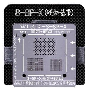 Image 2 - Wozniak WLที่ดีที่สุดสำหรับIphone 5 5s 6 6S 7 8 XS MAX Plus NANDโปรเซสเซอร์BGA ReballดีบุกสุทธิHDD Baseband Stencil Great Repairingฐาน