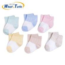 3 пара/лот милые носки для малышей детские девочек и мальчиков