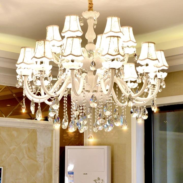 Moderne Kristall Kronleuchter Für Wohnzimmer Schlafzimmer Küche K9 Kristall  Lampe Lamparas De Techo Colgante Moderna Decke