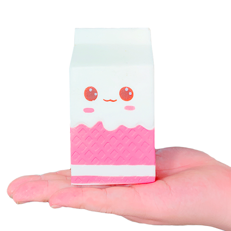Jumbo Milk Carton Squishy PU Simulation Series Toys Slow Boost Cream Scented Soft Squeeze Toy Anti Stress For Kid Gift