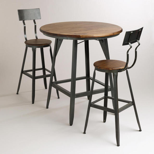 LOFT Mining Retro Style Furniture, Wrought Iron Tables And Chairs Do The  Old Small Round Table Coffee Bar Coffee Table Dining Ta
