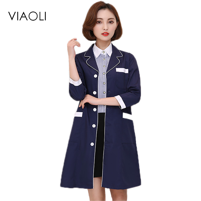 Back To Search Resultsnovelty & Special Use Medical Clever 2019 Beauty Salon Semi-permanent Tattoo Artist Bai Dazhao Health Hairdressing Physiotherapy Workwear Pharmacy Doctors Clothing To Be Highly Praised And Appreciated By The Consuming Public