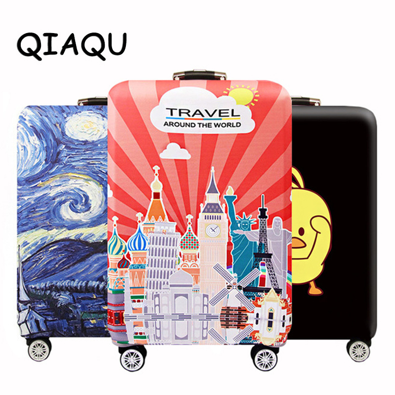 Fashion Travel Suitcase Protective Cover For 18-28 Inch Trolley Luggage Accessories Case Cover Dust Cover Travel Accessories