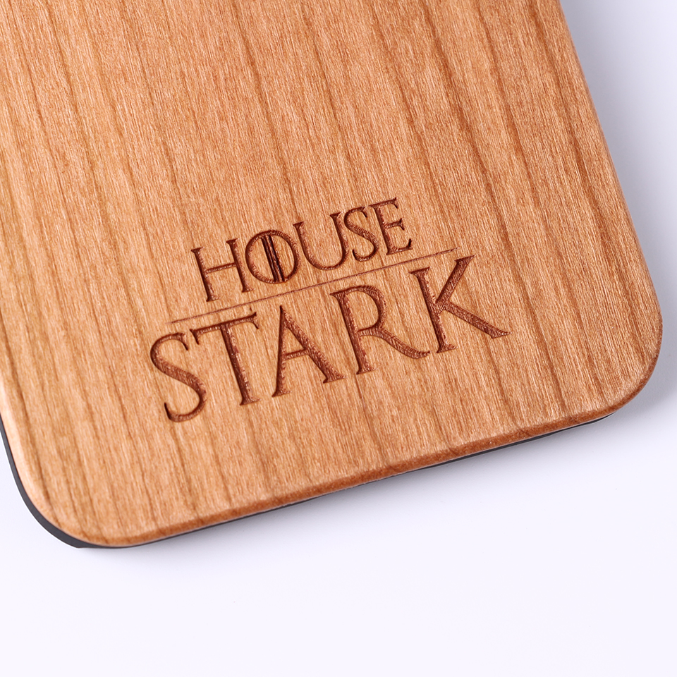 game of thrones laser engraved wooden case for iphone samsung