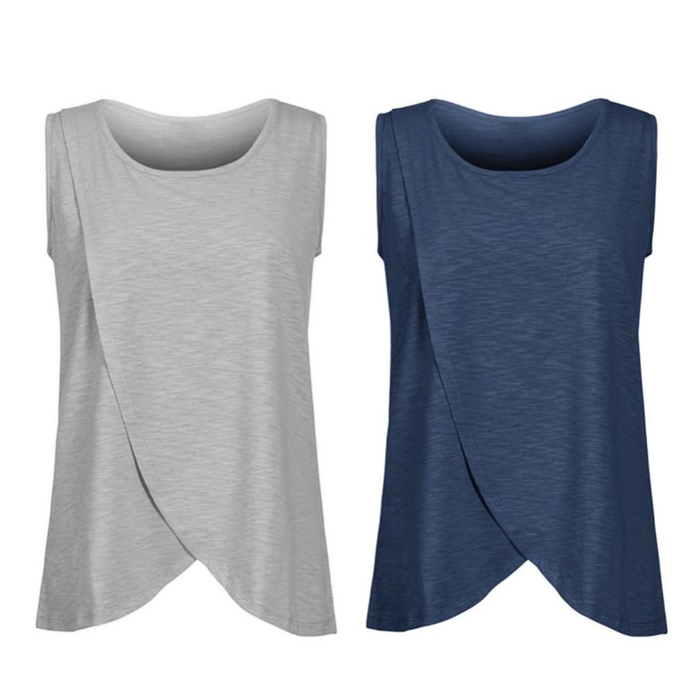 Summer Women Maternity Nursing Tops Cotton Maternity Breastfeeding Tops Pregnancy Lactation T-Shirt Breastfeeding Clothes