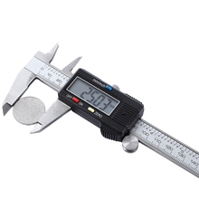 Freeshiping 0-150mm/6″ Metal Casing Digital Vernier Caliper Electronic Digital Caliper Micrometer Measuring Gauge