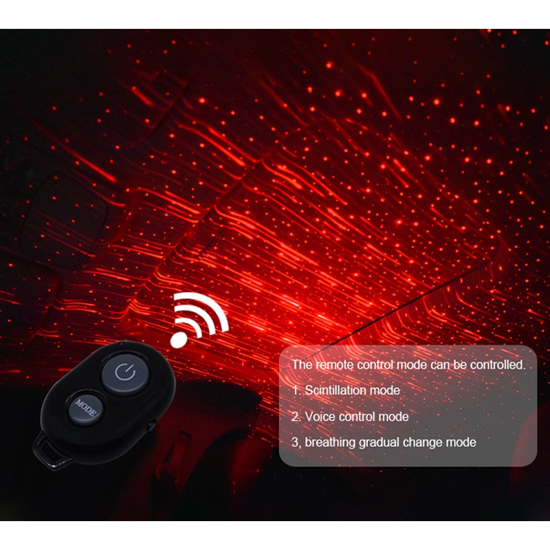 Automobiles & Motorcycles Reasonable Car Interior Ceiling Red Led Atmosphere Projector Usb Galaxy Meteor Star Light Atv,rv,boat & Other Vehicle