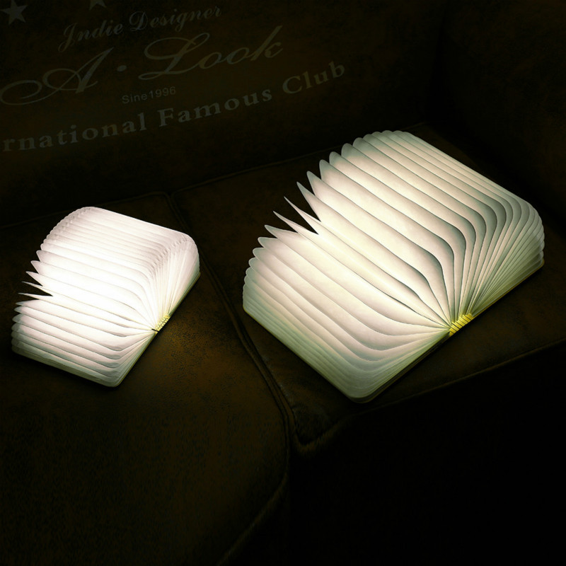 Bricolage fait à la main nuit atmosphère lampe tactile type démarrage batteries emittable 36 v internat de charge rapide