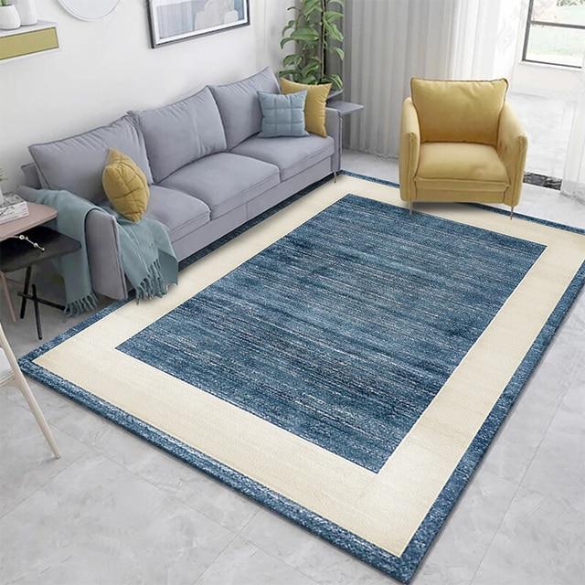 Hoge Kwaliteit Landelijke Stijl Slaapkamer Art Tapijt Voor Woonkamer Slaapkamer Anti-Slip Floor Mat Mode Keuken Tapijt Gebied tapijten